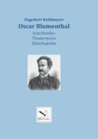Oscar Blumenthal, Dagobert Kohlmeyer (2020)
